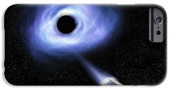 Black Hole Travel IPhone Case by Richard Kail