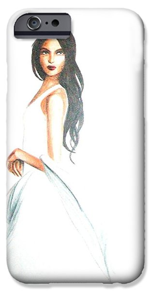 Blanca IPhone Case by MB Dallocchio