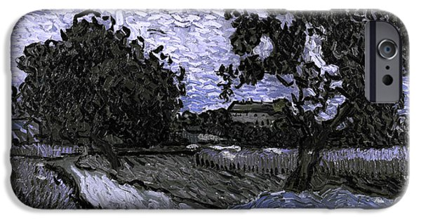 Blend 13 Van Gogh IPhone Case by David Bridburg