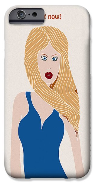 Blondes To Die Out In 200 Years IPhone Case by Frank Tschakert