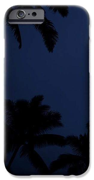Blood Moon In Hawaii  - Triptych   Part 1of 3 IPhone Case by Sean Davey