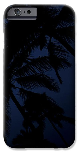 Blood Moon In Hawaii  - Triptych   Part 3 Of 3 IPhone Case by Sean Davey
