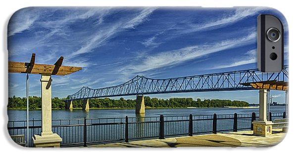Blue Bridge And Smothers Park IPhone Case by Wendell Thompson