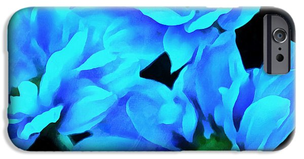 Blue Love IPhone Case by Krissy Katsimbras