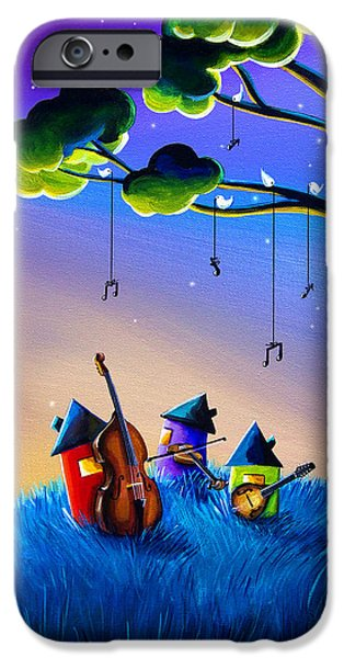 Bluegrass Nights IPhone Case by Cindy Thornton
