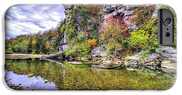 Bluffs Of The Buffalo River IPhone Case by JC Findley