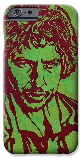 Bob Dylan Pop Art Poser IPhone 6s Case by Kim Wang
