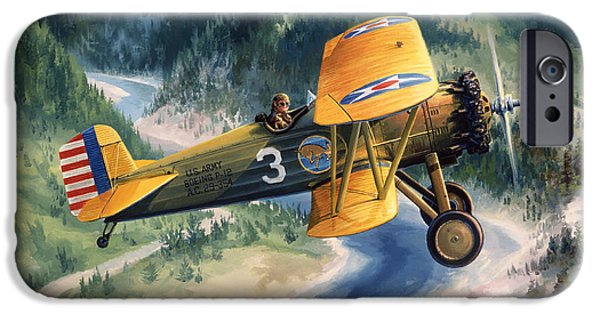 Boeing Country IPhone Case by Randy Green