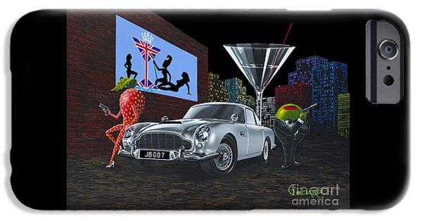 Bond IPhone Case by Michael Godard