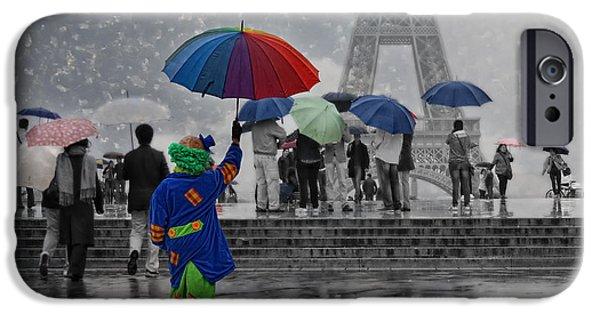 Bonjour Paris IPhone Case by Joachim G Pinkawa