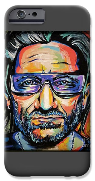 Bono IPhone Case by Amy Belonio