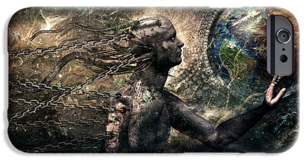 Born Of Osiris Soul Sphere IPhone Case by Cameron Gray