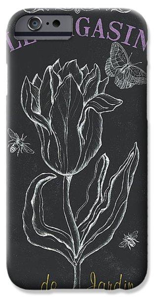 Bortanique 4 IPhone Case by Debbie DeWitt