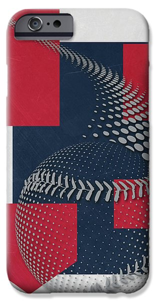 Boston Red Sox Art IPhone Case by Joe Hamilton