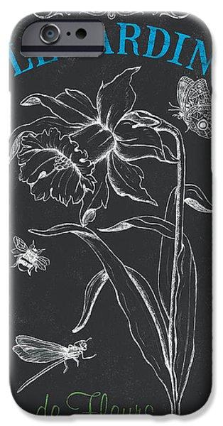 Botanique 2 IPhone Case by Debbie DeWitt