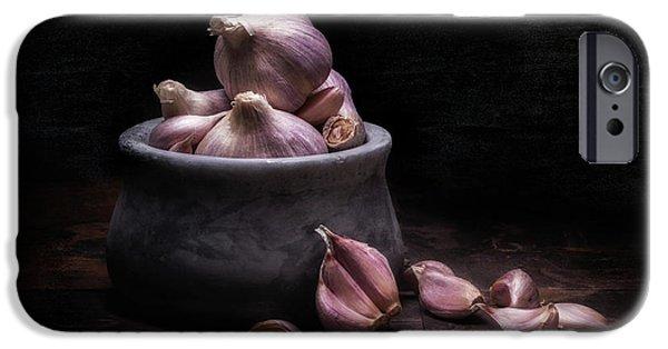 Bowl Of Garlic IPhone Case by Tom Mc Nemar
