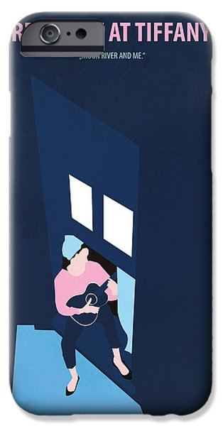 Breakfast At Tiffany's IPhone Case by Fraulein Fisher