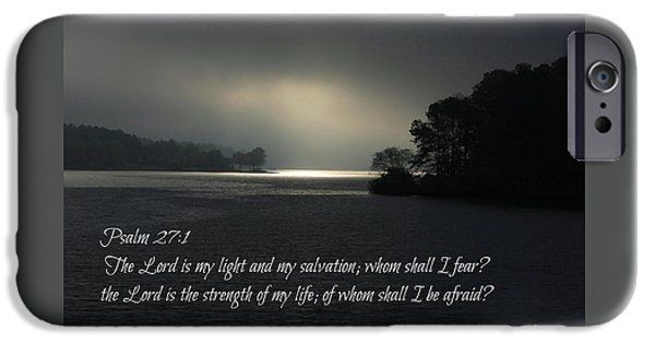 Breaking The Darkness The Lord My Light My Salvation IPhone Case by Reid Callaway