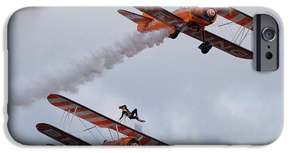 Breitling Wing Walkers IPhone Case by Stephen Smith