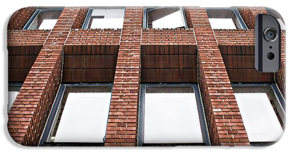 Brick Building IPhone Case by Tom Gowanlock
