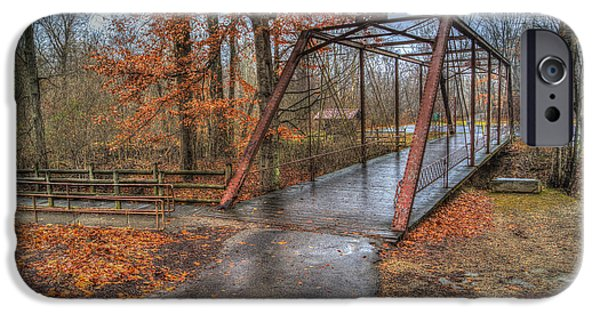 Bridge From The Past IPhone Case by Wendell Thompson