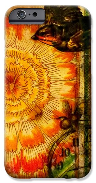 Bright Life Encaustic IPhone Case by Bellesouth Studio