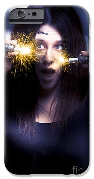 Bright Sparks IPhone Case by Jorgo Photography - Wall Art Gallery