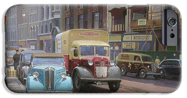 British Railways Austin K2 IPhone Case by Mike  Jeffries