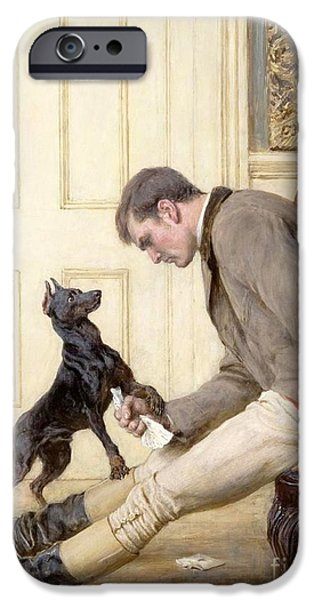 Jilted IPhone Case by Briton Riviere
