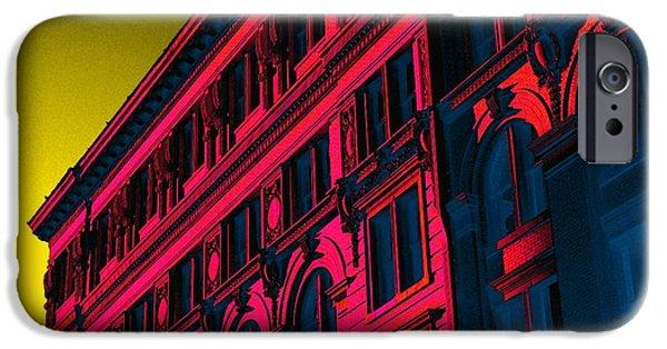 Broadway 118 In Fuschia IPhone 6s Case by Edgar Farrera