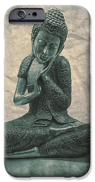 Buddha Contemplate IPhone Case by Madeleine Forsberg