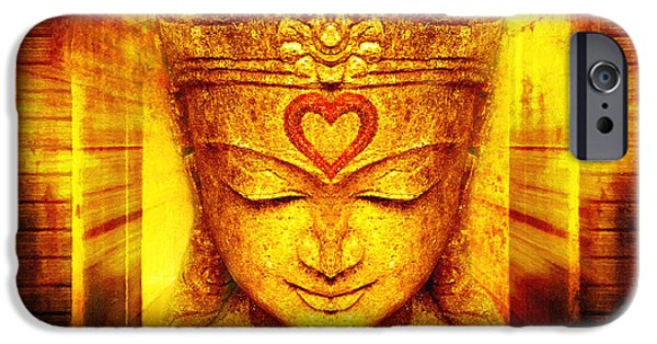 Buddha Entrance IPhone Case by Khalil Houri