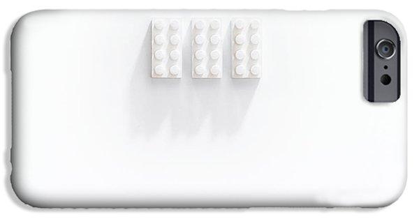 Builidng Blocks IPhone Case by Scott Norris