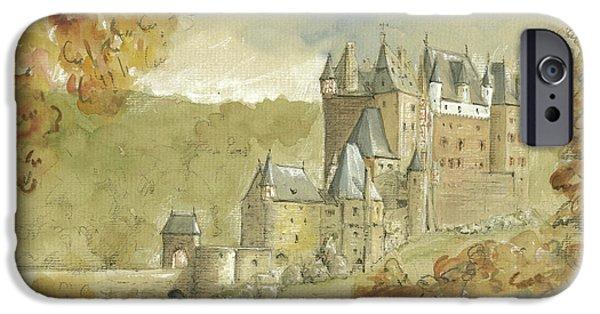 Burg Eltz Castle IPhone 6s Case by Juan Bosco