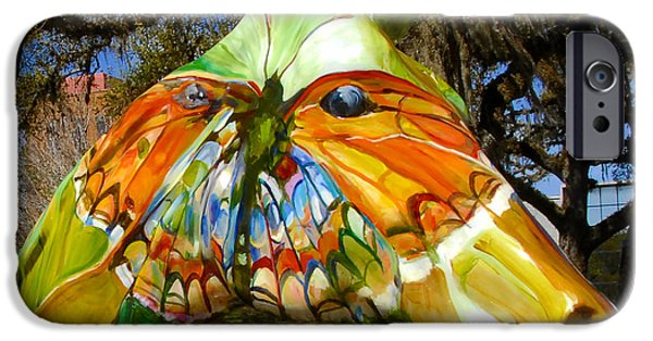 Butterfly Horse Ocala Florida IPhone Case by David Lee Thompson