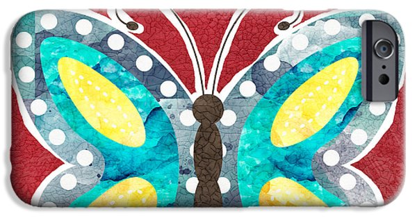 Butterfly Liberty IPhone 6s Case by Linda Woods