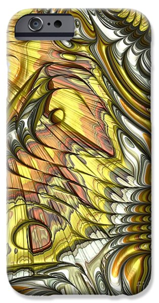 Butterfly Wing IPhone Case by John Edwards