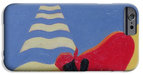 By The Sea Shore IPhone Case by Tilly Willis