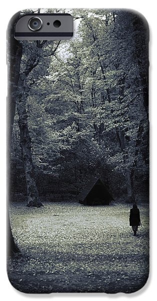 Cabin In The Woods IPhone Case by Joanna Jankowska