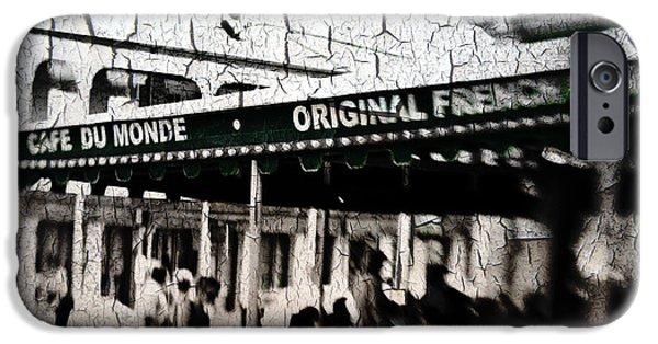 Cafe Du Monde IPhone Case by Scott Pellegrin