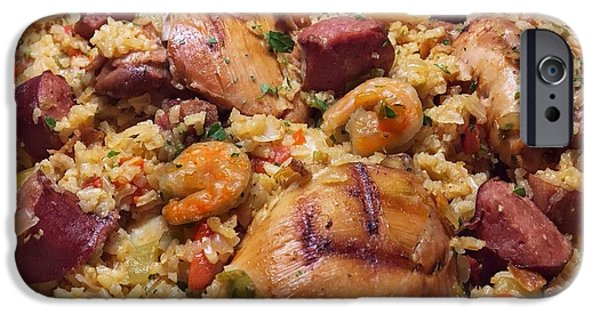 Cajun Jambalaya IPhone Case by Porter Lansing