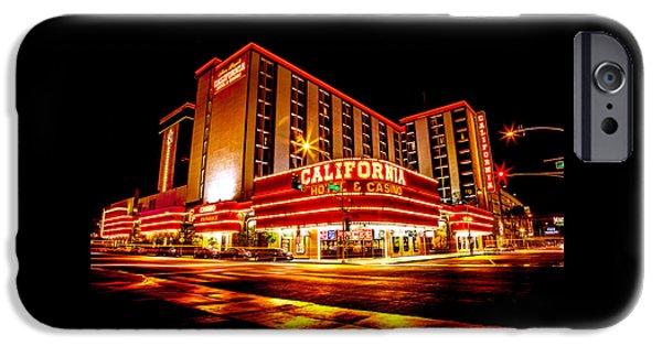 California Hotel IPhone Case by Az Jackson
