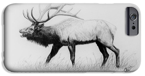 Call Of The Wild IPhone Case by Olivia Thompson
