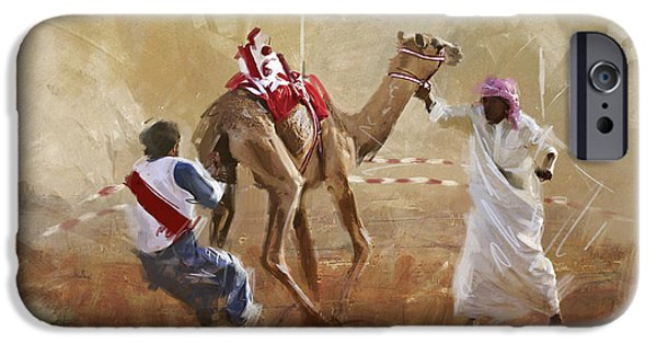 Camels And Desert 20 IPhone Case by Mahnoor Shah