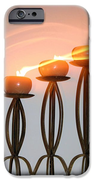 Candles In The Wind IPhone 6s Case by Kristin Elmquist