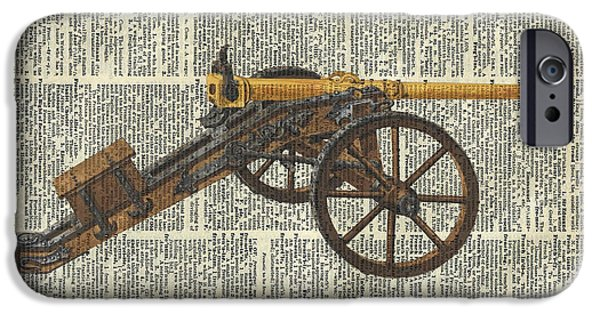 Cannon IPhone Case by Jacob Kuch