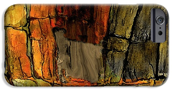 Canyon Abstract IPhone Case by Carole Jacobs