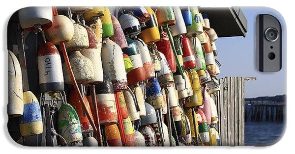 Cape Cod Buoys IPhone Case by Dapixara Art