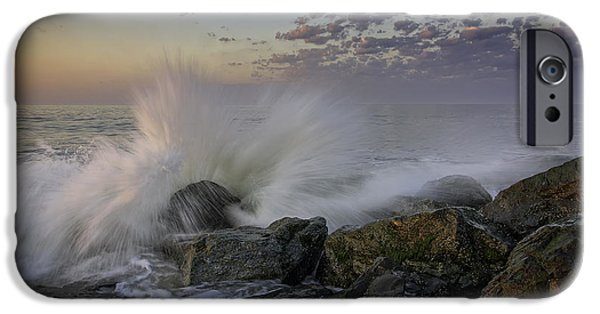 Cape May High Tide IPhone Case by Rick Berk
