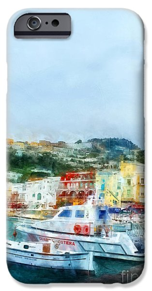 Capri IPhone Case by HD Connelly